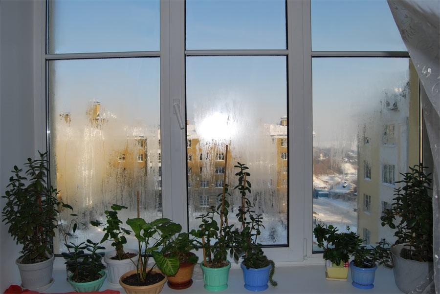 Как бороться с запотевшими пластиковыми окнами