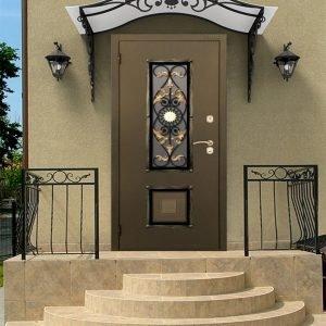 Входные двери для загородного дома: разновидности и особенности выбора утепленного полотна