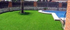 Искусственный газон: достоинства и недостатки покрытия