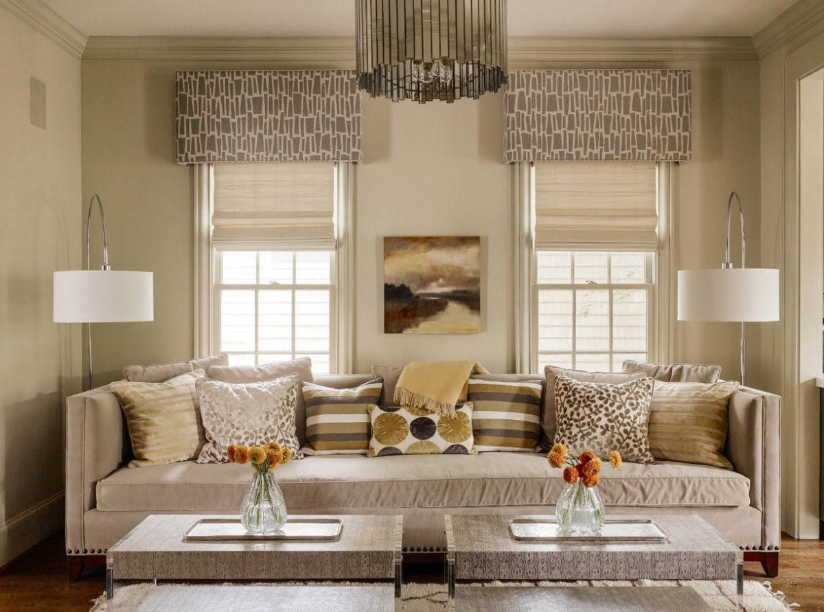 Какие шторы выбрать в гостевую зону