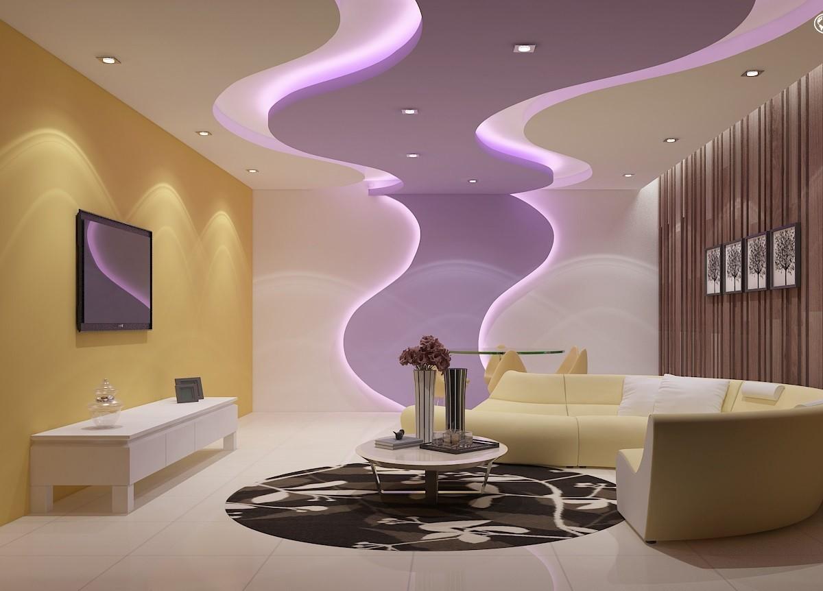 Как стильно и качественно оформить потолок