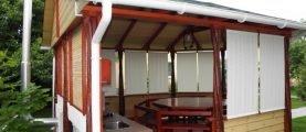 Как построить самостоятельно летнюю кухню на даче