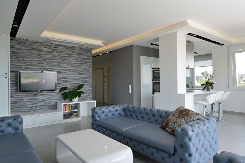 Серый цвет: не скучный интерьер для дома