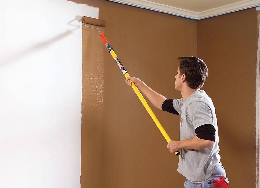 Как сэкономить время и силы, добившись качественной покраски стен