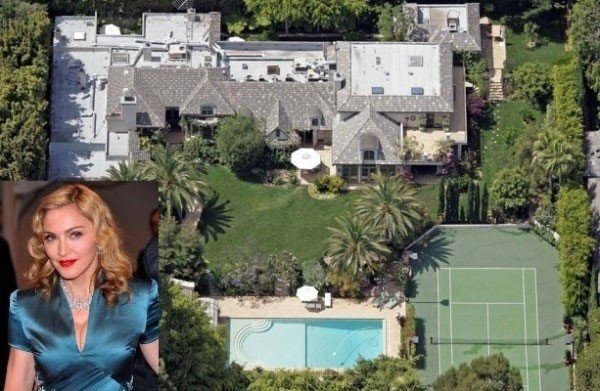 Роскошная недвижимость, хозяйкой которой является певица Мадонна