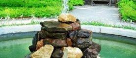 Как самому соорудить фонтан на дачном участке: нужные материалы и подробная инструкция