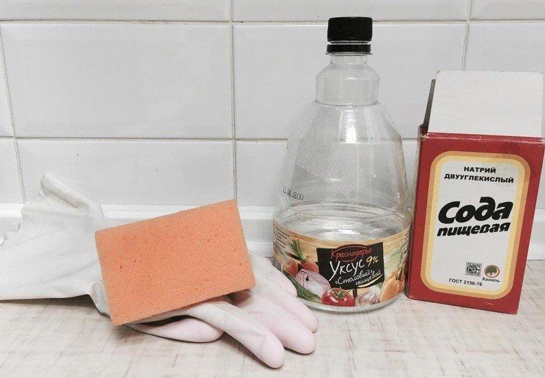 Какие методы и средства очистят швы в ванной