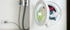 Подключение автоматической стиральной машины в благоустроенной квартире и в доме без водопровода