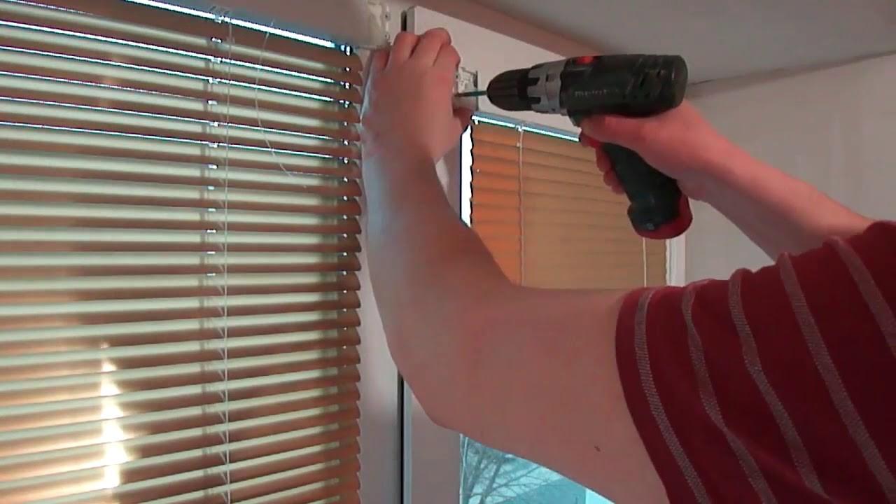 Оконные жалюзи: правила замера, крепление к стене и непосредственно к оконной раме