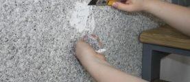 Как удалить жидкие обои со стен