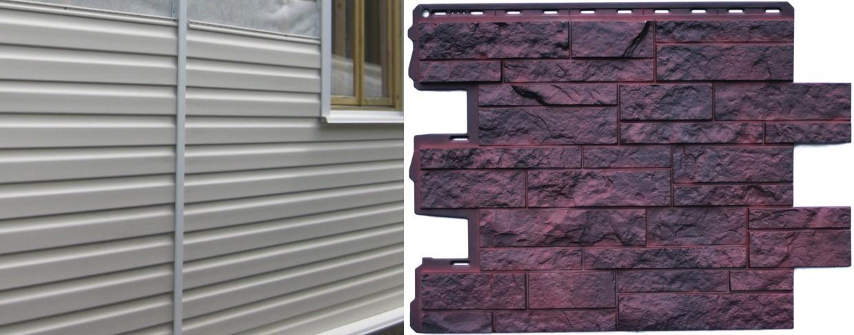 Расчёт количества материала на облицовку дома фасадными сайдинг-панелями