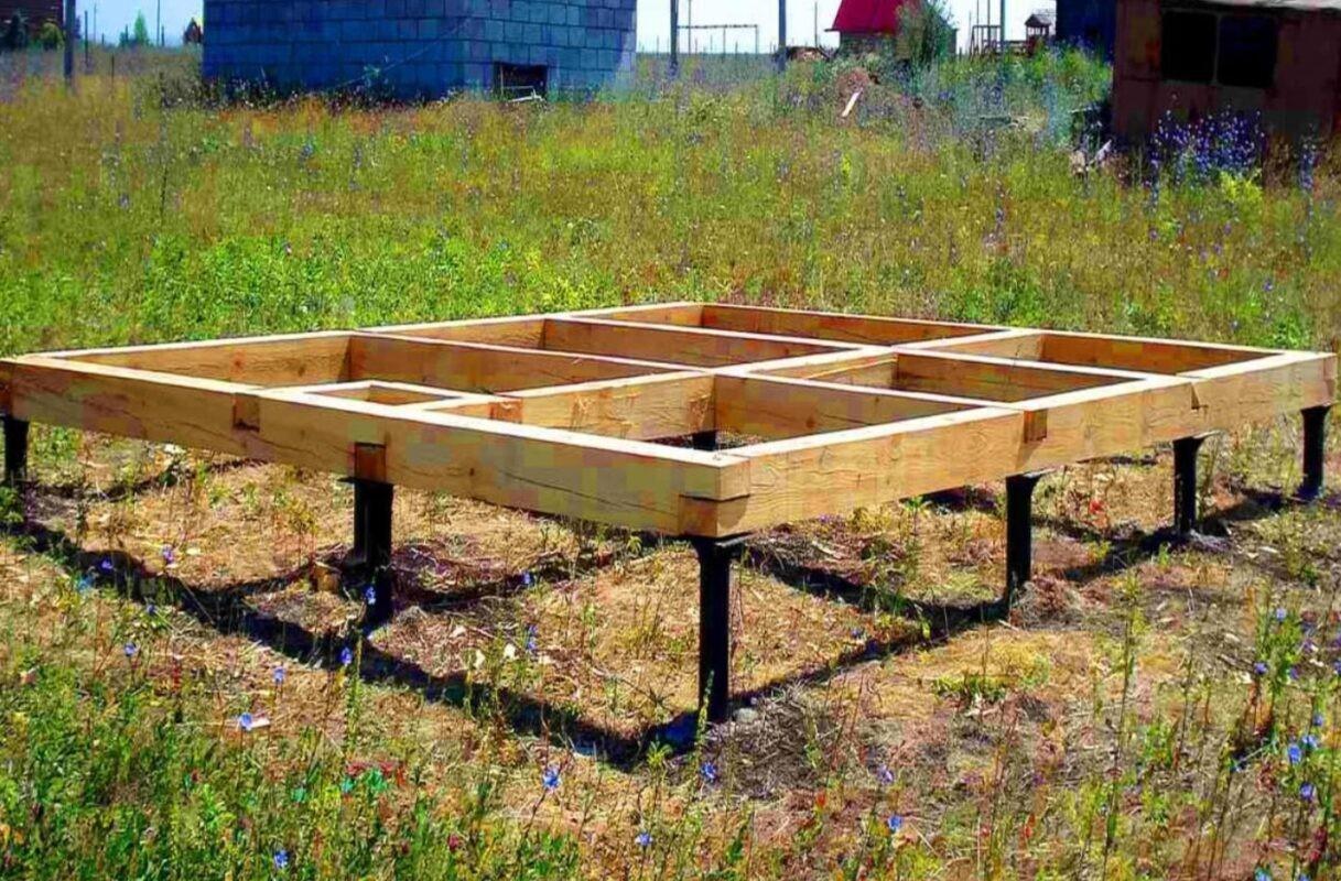 Выбор типа фундамента под деревянные и кирпичные беседки