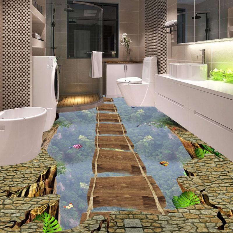 Варианты обустройства эстетичного и водостойкого пола в ванной комнате
