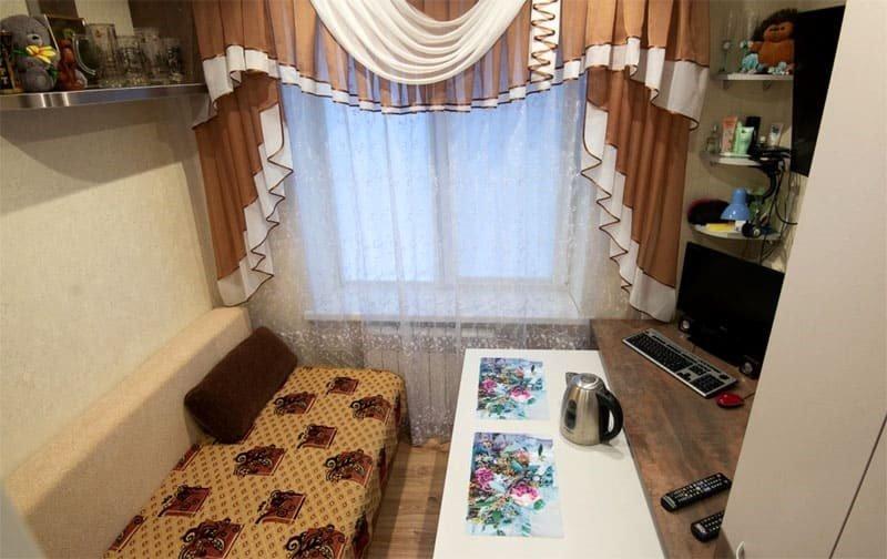 Как превратить комнату коммуналки в удобное многофункциональное помещение