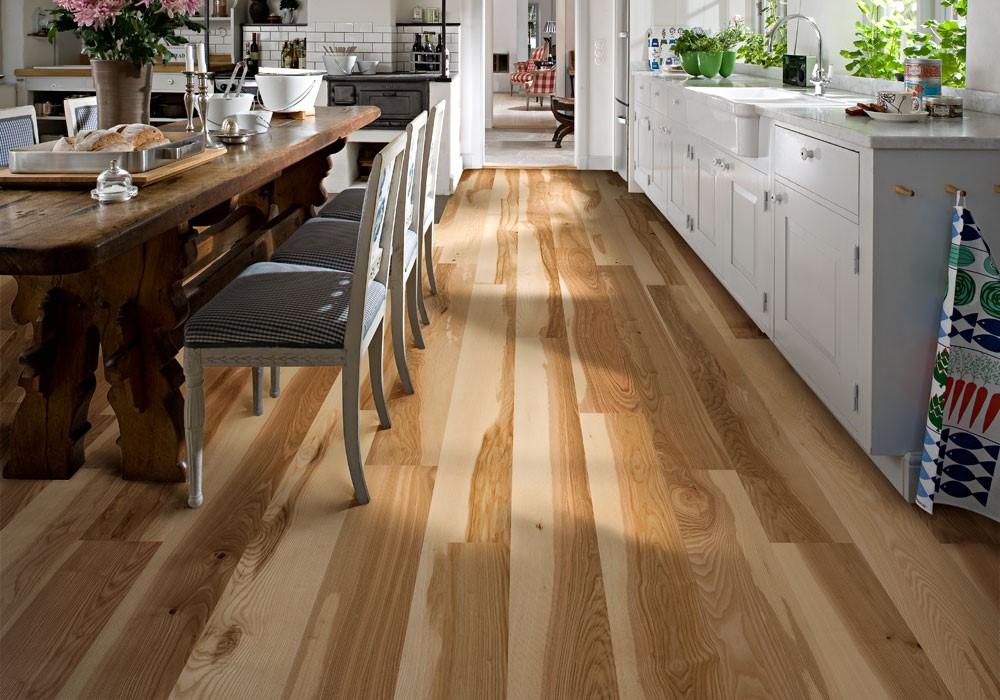 7 вариантов напольного покрытия для кухни