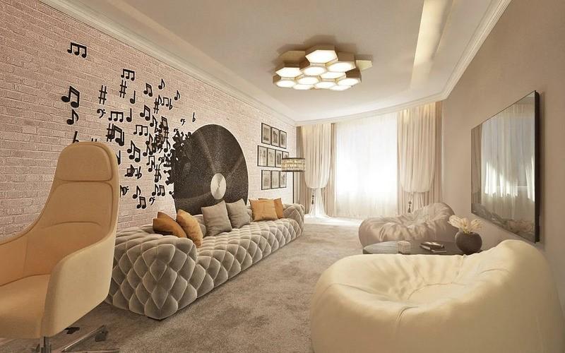 Прекрасные апартаменты обаятельной Нюши