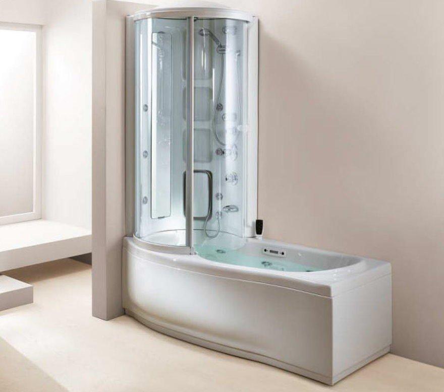 Душевая кабина с ванной: возможность создания пространства для принятия домашних водных процедур