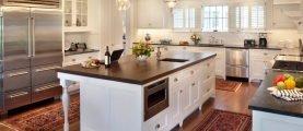 Кухонный остров: не совсем обычный вариант обустройства кухни в городской квартире