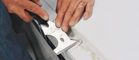 Как удалить излишки застывшего силиконового герметика с различных поверхностей и с одежды
