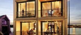 Модульные дома для проживания круглый год: особенности и характеристики строения