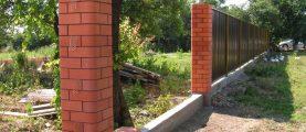 Как происходит частичное и полное бетонирование столбов