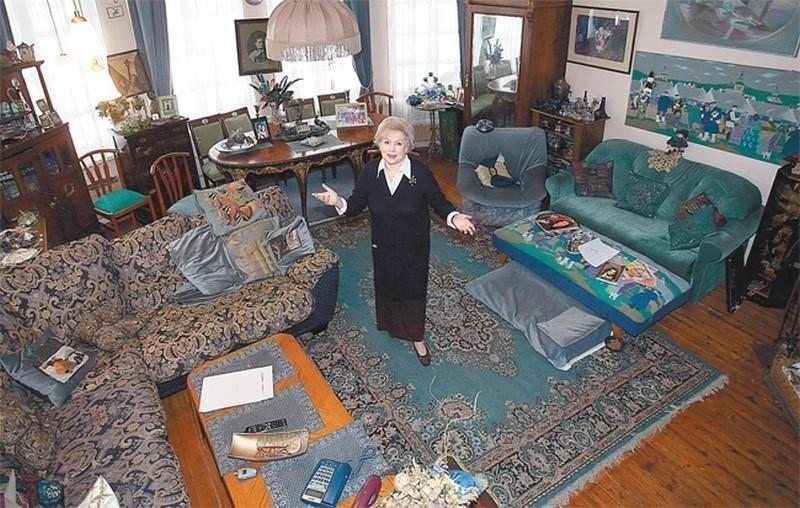 Уникальная Лия Ахеджакова и ее необычный дом