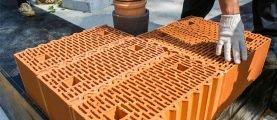 Керамический кирпич Porotherm: особенности материала и  преимущества использования
