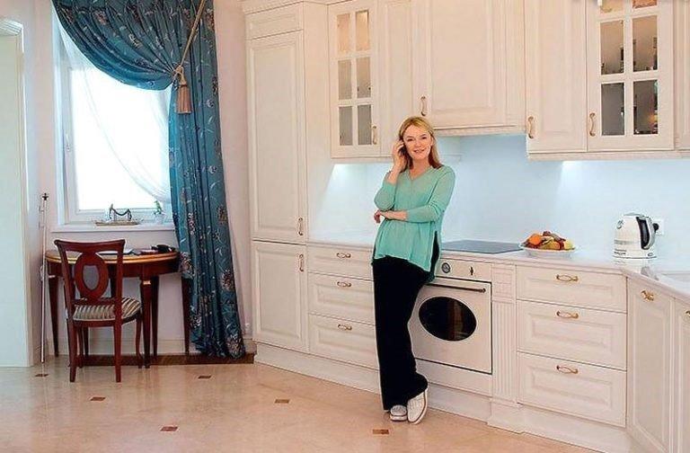 Элегантный интерьер квартиры Ларисы Вербицкой