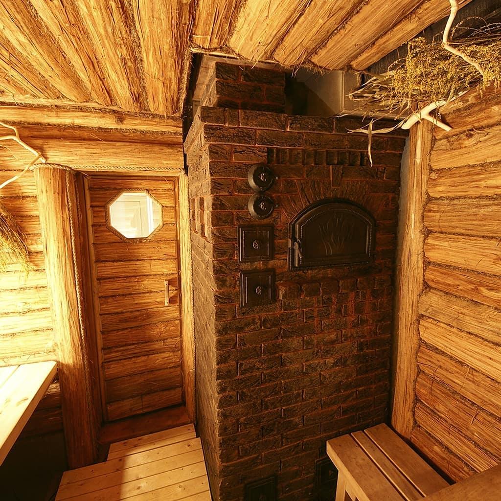 Русская баня: критерии выбора банной печки, материалы для обшивки парной, противопожарная защита