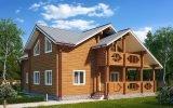 Особенности и преимущества домов из клееного бруса